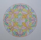 Mandala - transparant  Element lucht